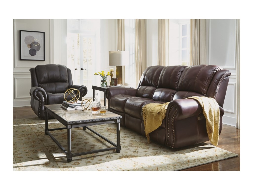 Flexsteel Latitudes - PattonPower Recliner with Power Headrest
