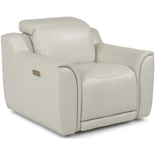 Flexsteel Latitudes - Reign Power Recliner with Power Headrest and USB Port