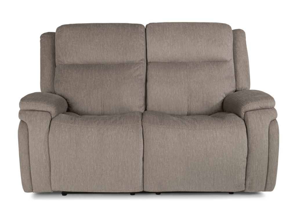 Flexsteel Latitudes - RocketPower Reclining Loveseat with Power Headrest