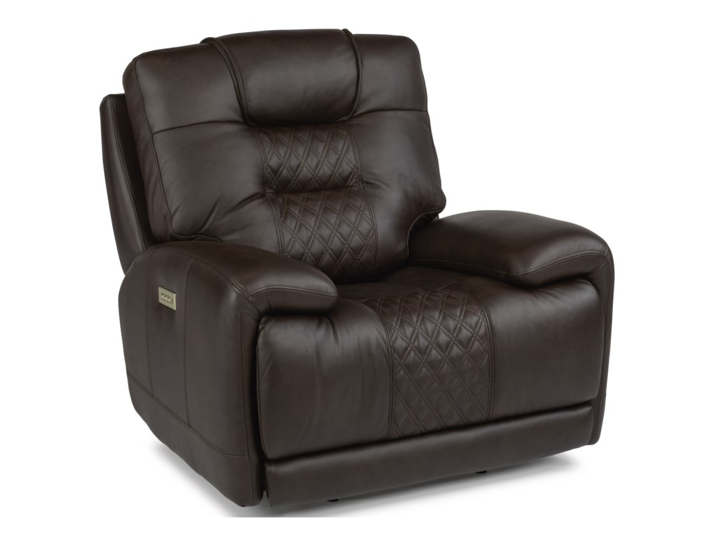 Flexsteel Latitudes - RoycePower Recliner with Power Headrest