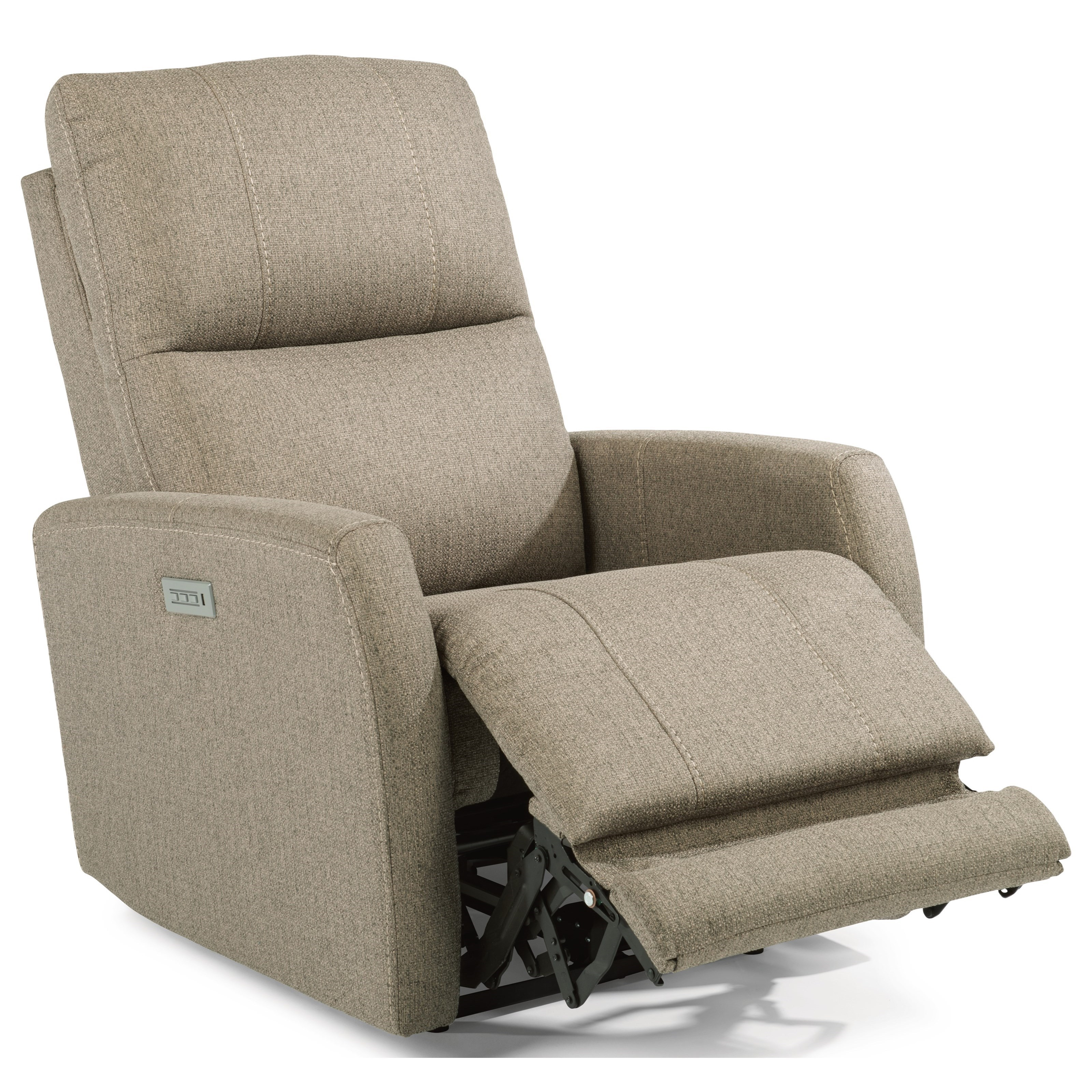 Flexsteel Latitudes - Sadie Contemporary Power Recliner with Power Headrest and Lumbar  sc 1 st  Goffena Furniture & Flexsteel Latitudes - Sadie Contemporary Power Recliner with Power ...