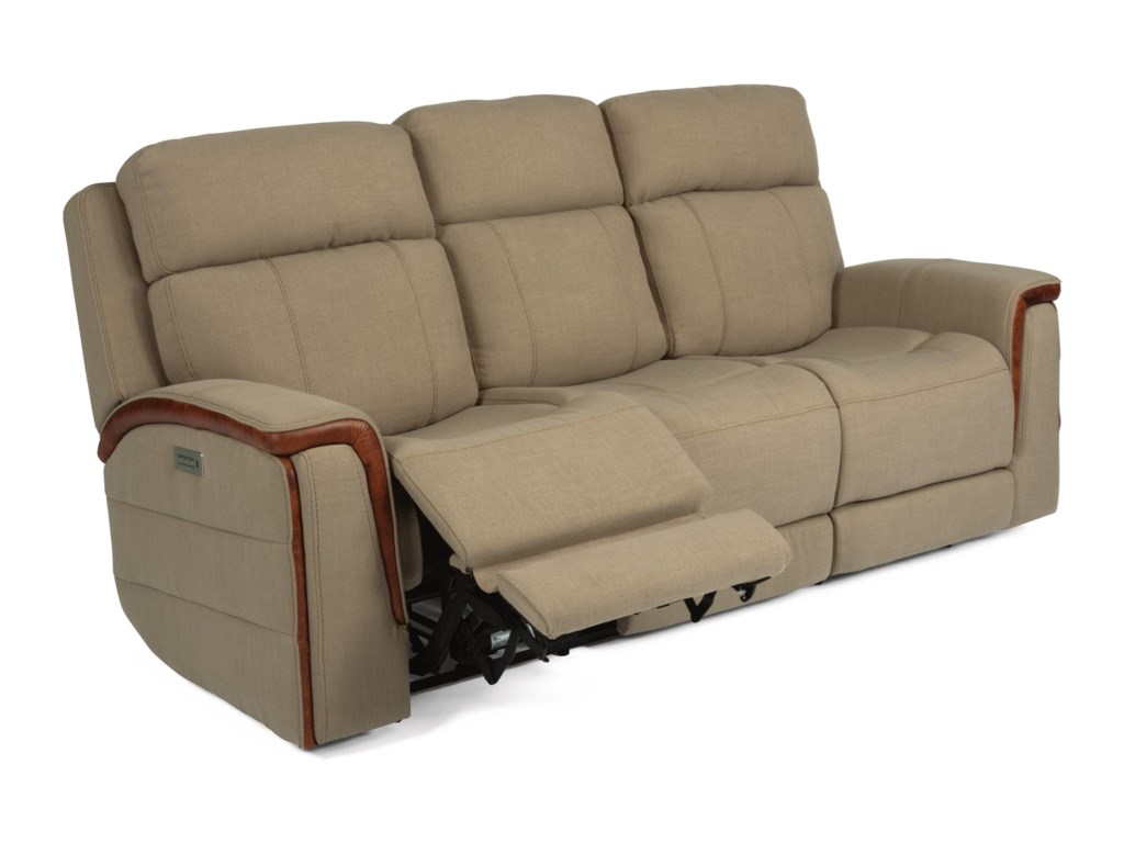 Flexsteel Latitudes - SnyderPower Reclining Sofa