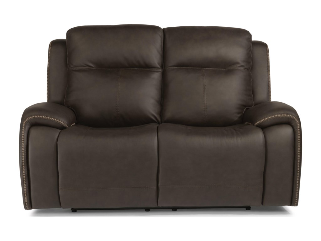 Flexsteel Latitudes - SoloPower Reclining Loveseat w/ Power Headrests