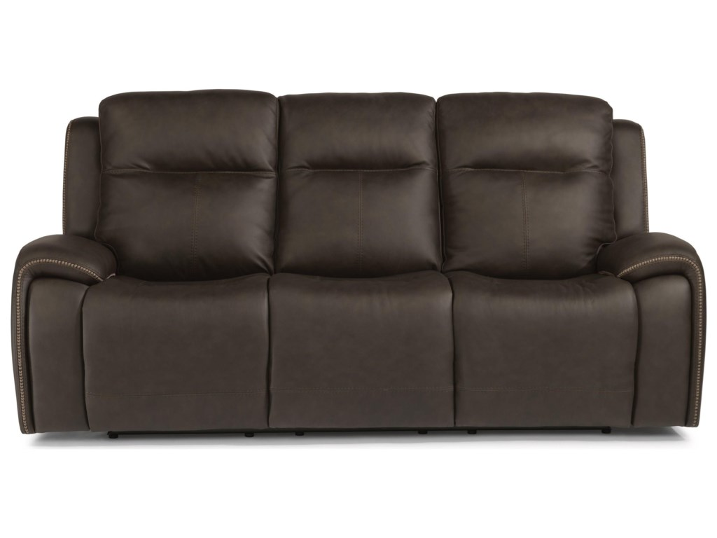 Flexsteel Latitudes - SoloPower Reclining Sofa w/ Power Headrests