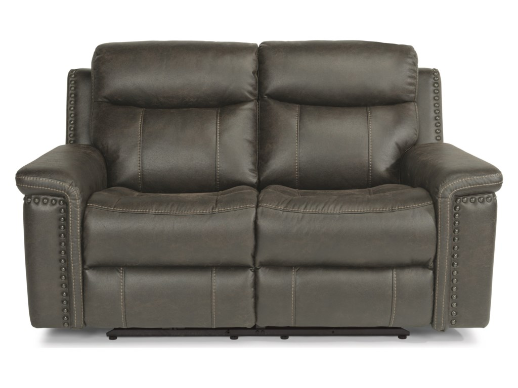 Flexsteel Latitudes - TrevorPower Reclining Love Seat