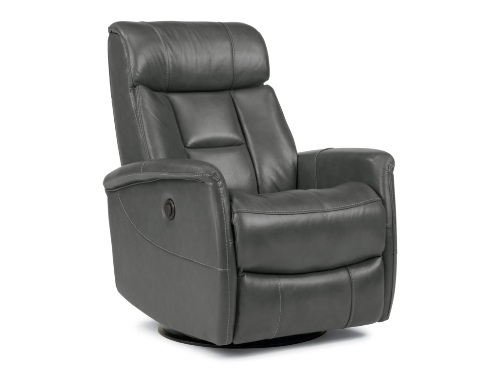 Flexsteel Latitudes Go Anywhere ReclinersHart Queen Size Power Swivel Glider Recliner