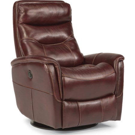 Alden King Power Swivel Glider Recline