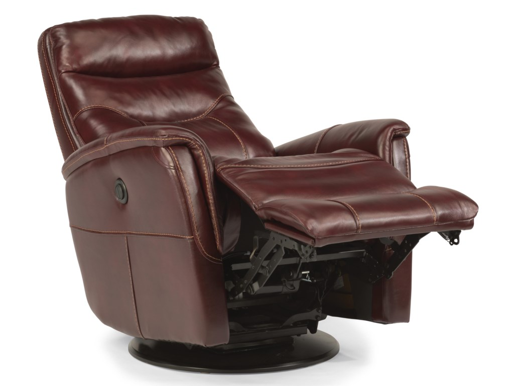 Flexsteel Latitudes Go Anywhere ReclinersAlden Queen Power Swivel Glider Recline