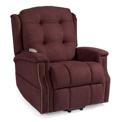 Flexsteel Latitudes Lift Chairs Alexander Three-Way Power Lift Recliner