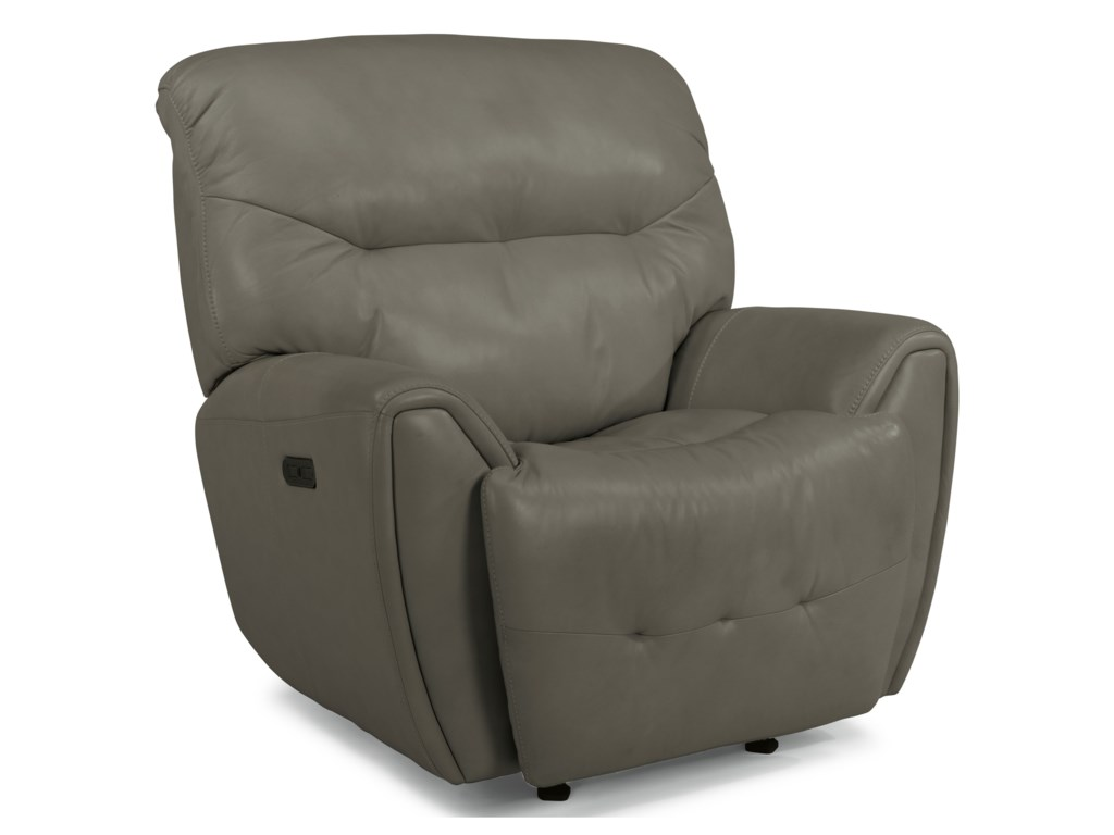 Flexsteel Latitudes-BlaisePower Gliding Recliner with Power Headrest