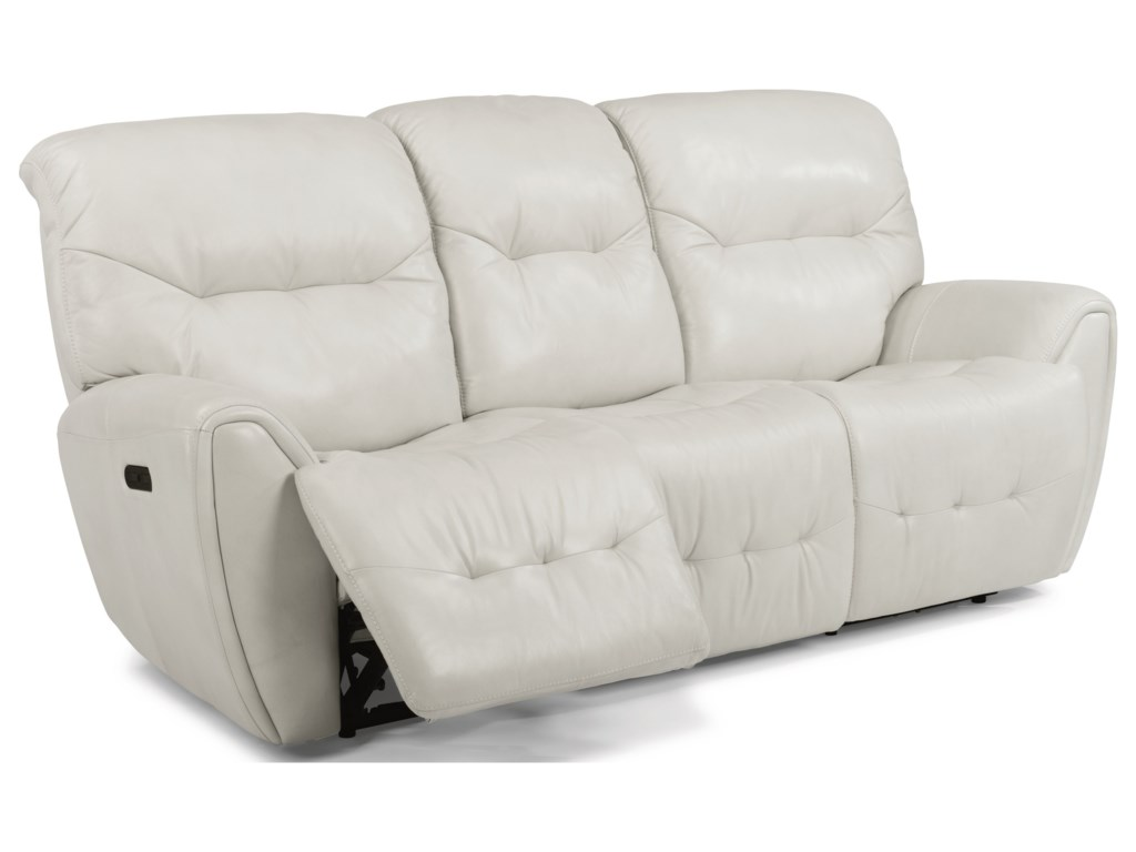 Flexsteel Latitudes-BlaisePower Reclining Sofa with Power Headrest
