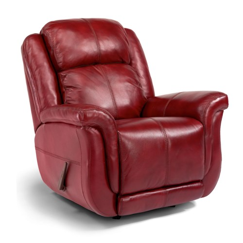 Flexsteel Latitudes-Brookings Casual Recliner with Power Motion