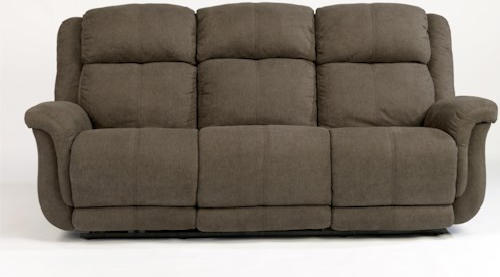 Flexsteel Latitudes-Brookings Casual Power Reclining Sofa with USB Ports