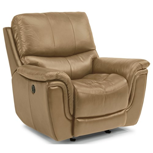 Flexsteel Latitudes-Coco Casual Power Gliding Recliner with USB Ports