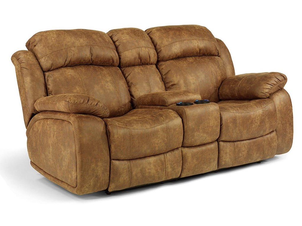 Flexsteel Latitudes-ComoPower Reclining Console Loveseat