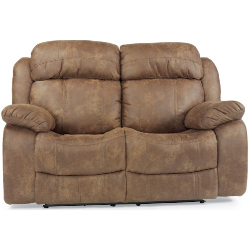 Flexsteel Latitudes-Como Power Dual Reclining Loveseat