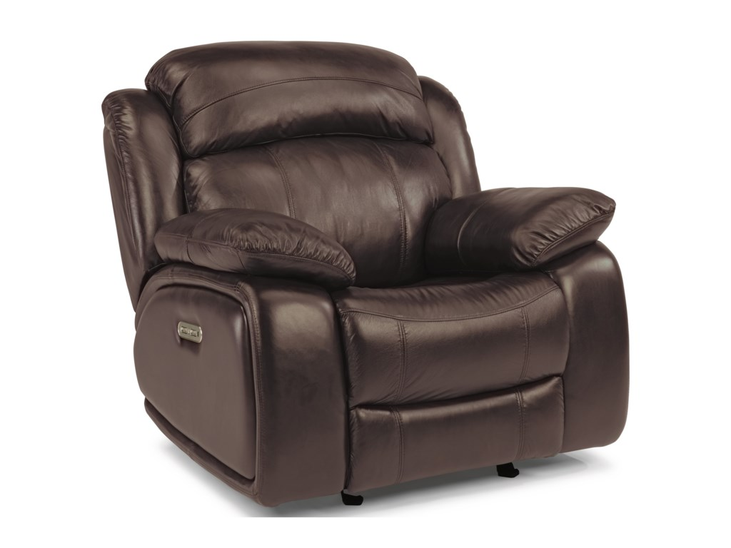 Flexsteel Latitudes-ComoPower Glider Recliner with Power Headrest