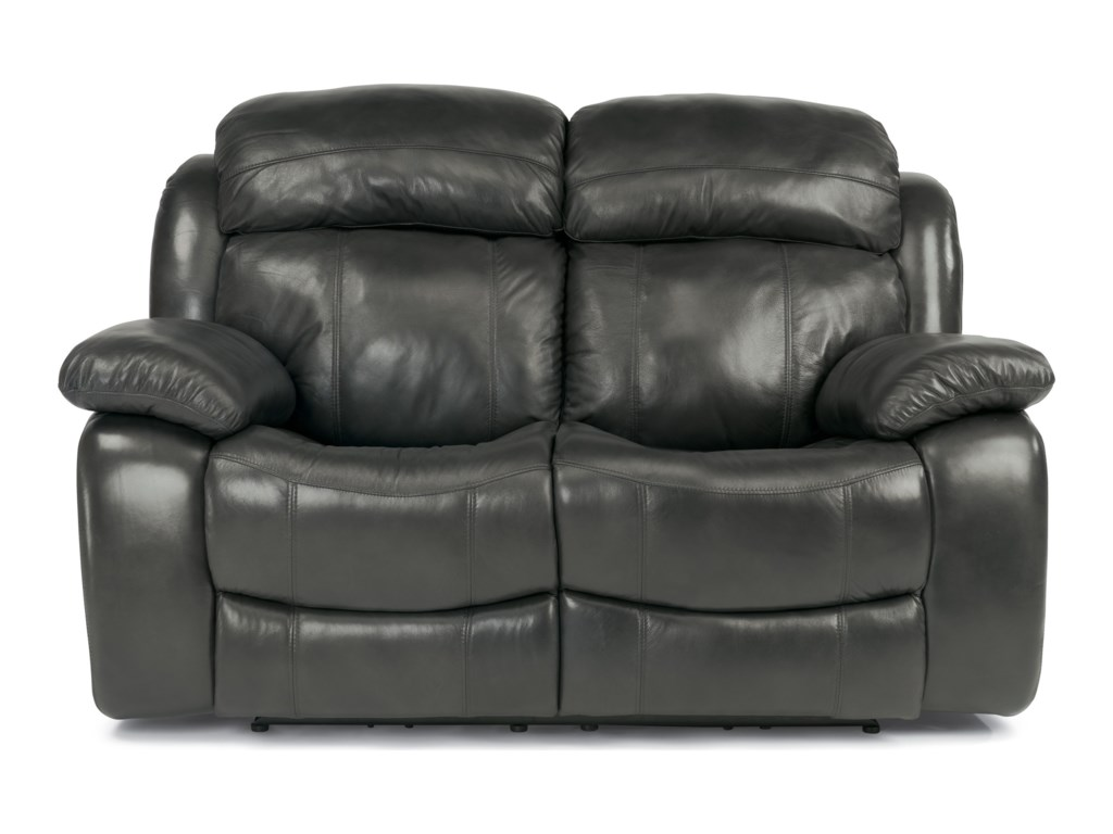 Flexsteel Latitudes-ComoPower Reclining Loveseat with Power Headrest