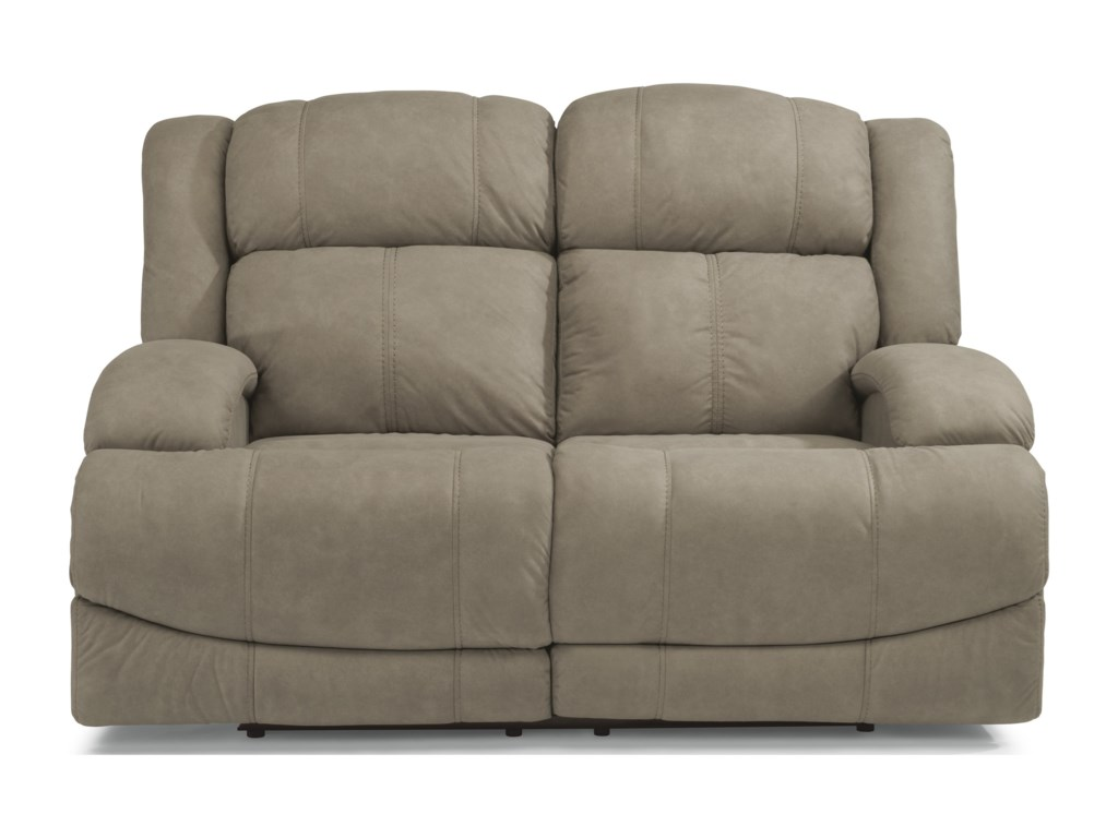 Flexsteel Latitudes-DeclanPower Reclining Loveseat with Power Headrest