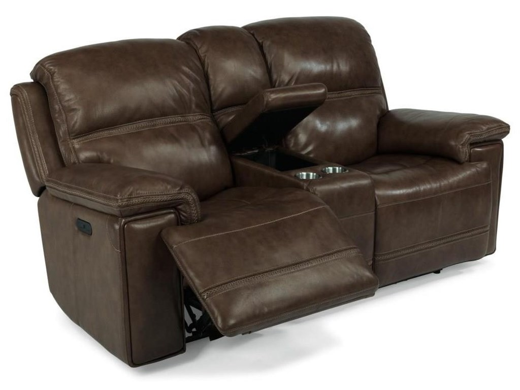 Flexsteel Latitudes-FenwickPower Reclining Loveseat