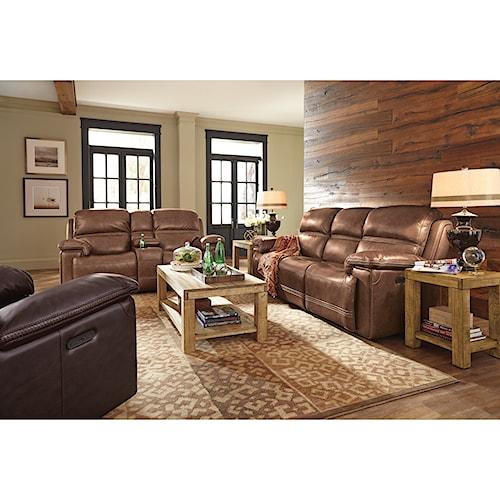 Flexsteel Latitudes-Fenwick Reclining Living Room Group