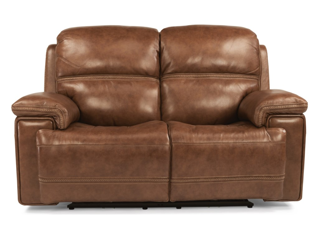 Flexsteel Latitudes-FenwickPwr Rcl Loveseat w/ Pwr Headrest