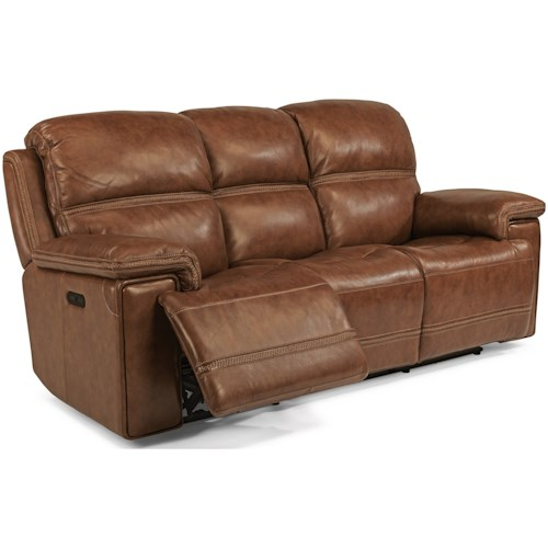 Flexsteel Latitudes Fenwick Power Reclining Sofa With Power Tilt