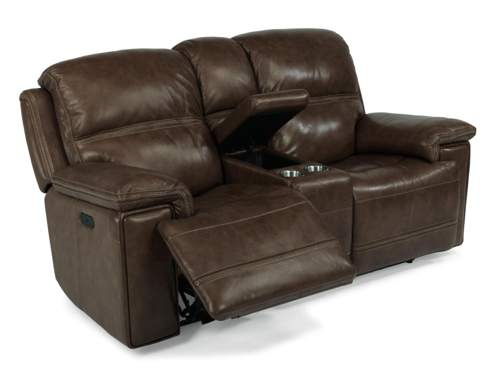 Flexsteel Latitudes Fenwick 1659 64ph 204 70 Recliner Leather Power