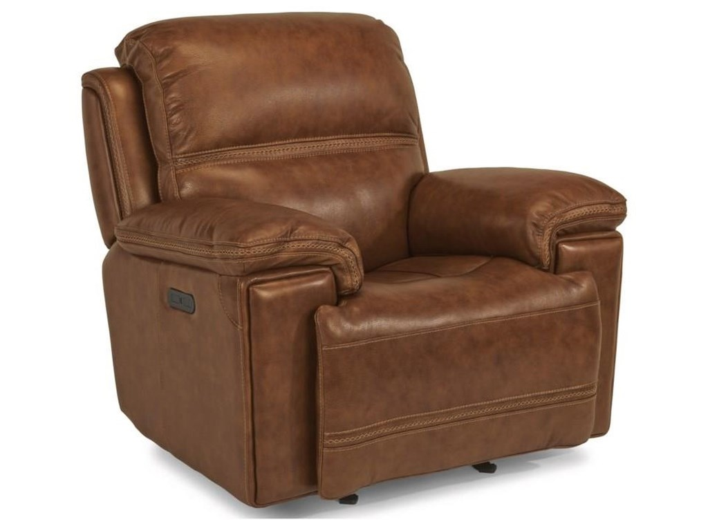 Flexsteel Latitudes-FenwickPower Reclining Sofa, Loveseat and Recliner