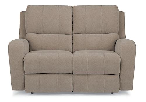 Flexsteel Latitudes-Hammond Power Reclining Love Seat