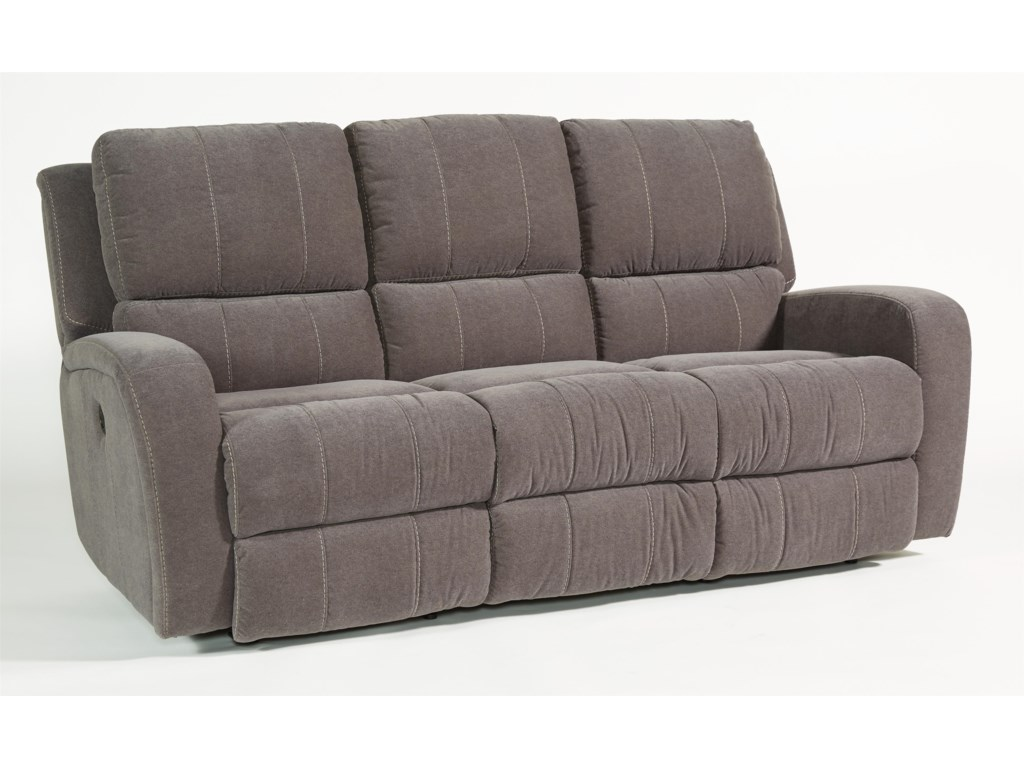 Flexsteel Latitudes-HammondDouble Reclining Sofa w/ Power