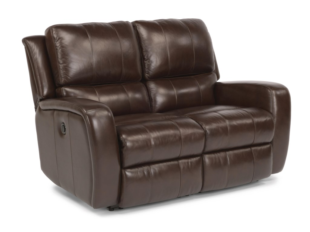 Flexsteel Latitudes-HammondReclining Love Seat w/ Power