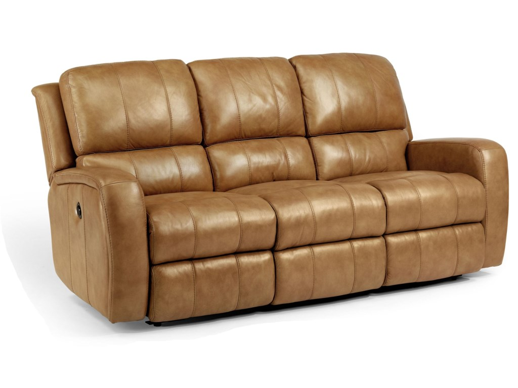 Flexsteel Laudes Hammonddouble Reclining Sofa W
