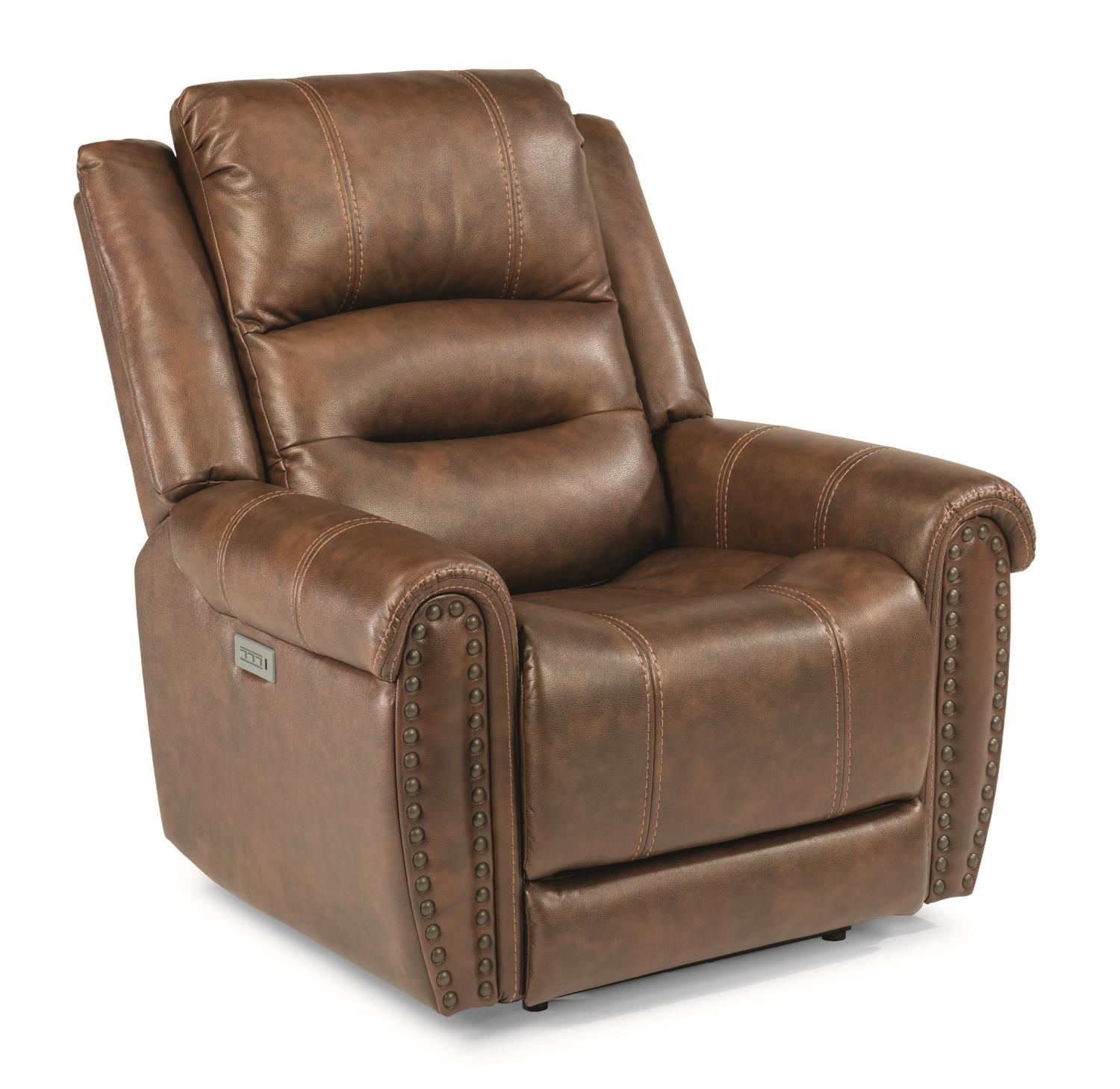 Flexsteel Latitudes Huxley Power Recliner With Power Headrest U0026 Lumbar  Extending Footrest