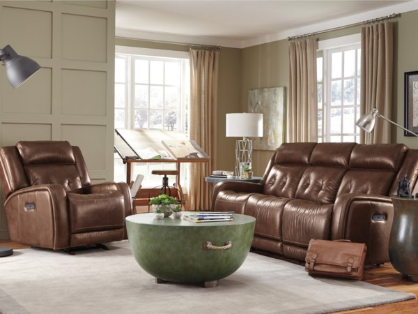 Flexsteel latitudes jude power reclining living room group