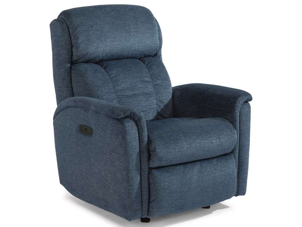 Flexsteel LunaPower Rocking Recliner with Power Headrest