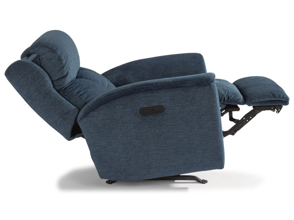 Flexsteel LunaPower Rocking Recliner
