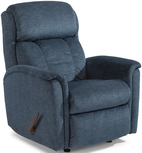 Flexsteel Latitudes-Luna Casual Swivel Gliding Recliner