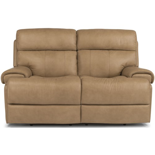 Flexsteel Latitudes-Margot Contemporary Power Reclining Loveseat