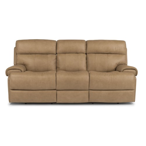 Flexsteel Latitudes-Margot Contemporary Power Reclining Sofa