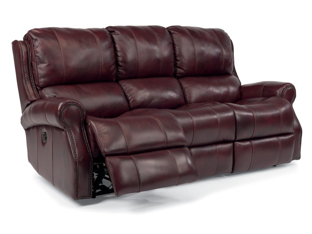 Flexsteel Latitudes-MilesPower Reclining Sofa