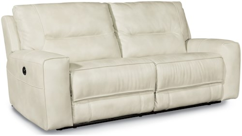 Flexsteel Latitudes-Molino Casual Power Reclining 2 Seat Sectional with Track Arms