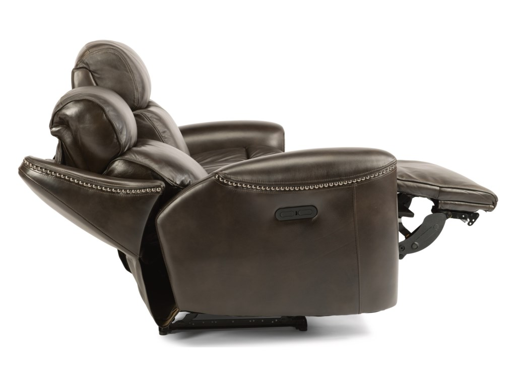 Flexsteel Latitudes-MysticPower Reclining Loveseat