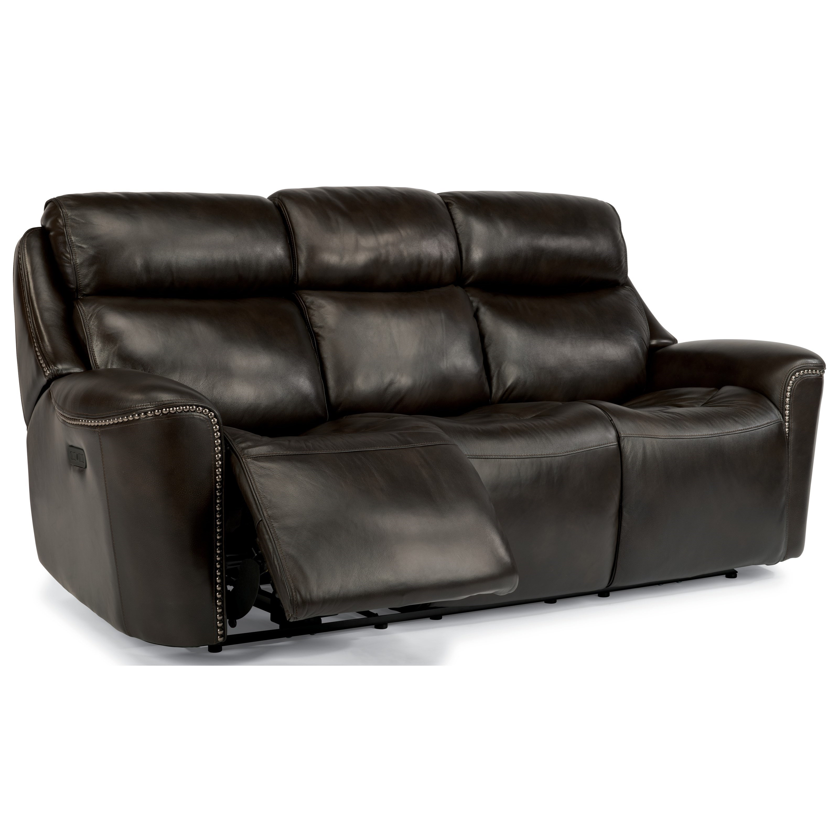 Flexsteel Latitudes-Mystic Power Reclining Sofa with Adjustable Headrest and USB Ports - Dunk u0026 Bright Furniture - Reclining Sofa  sc 1 st  Dunk u0026 Bright Furniture & Flexsteel Latitudes-Mystic Power Reclining Sofa with Adjustable ... islam-shia.org
