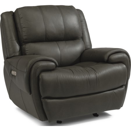 Power Gliding Recliner with Power Headrest