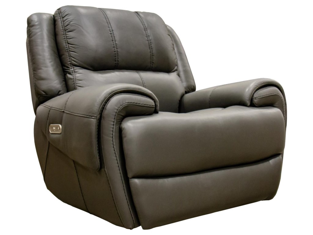 Flexsteel Latitudes-NancePower Gliding Recliner with Power Headrest