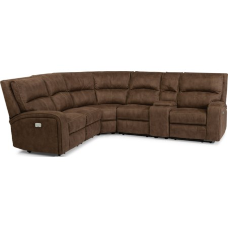 Power Reclining L-Shaped Sectional