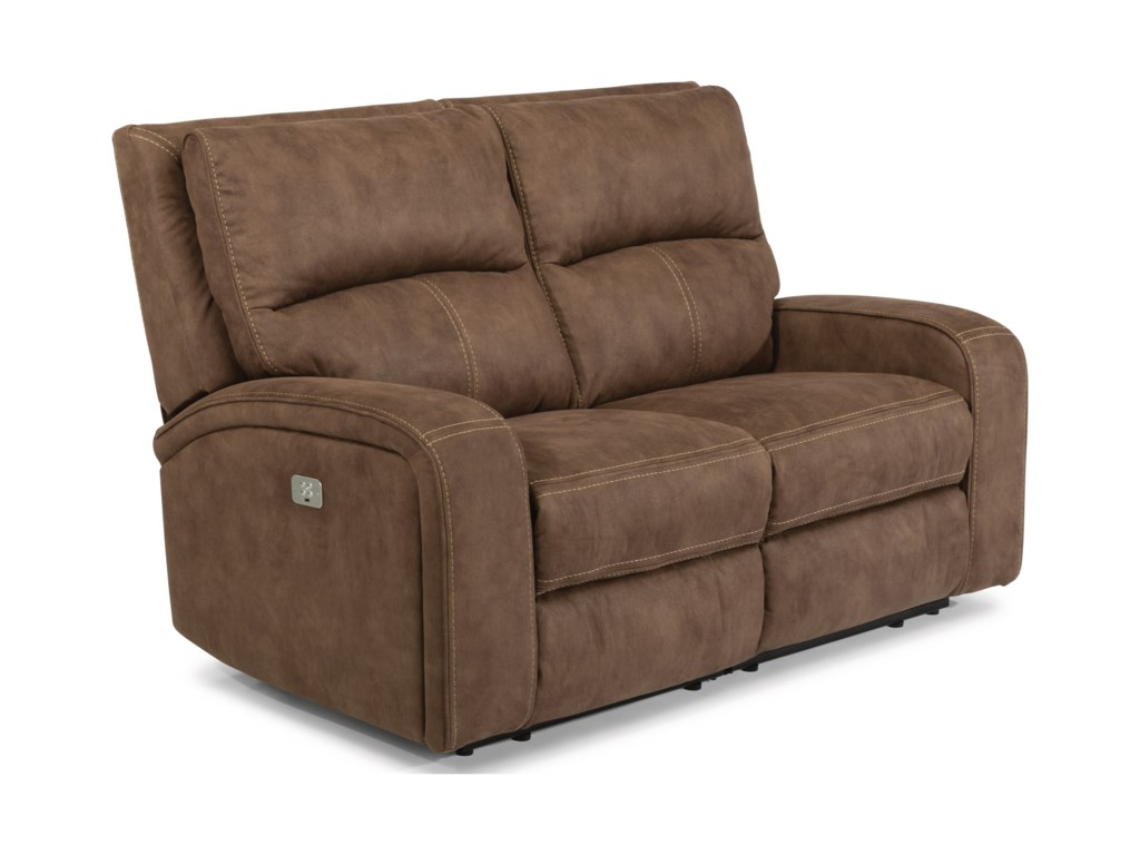 Flexsteel Latitudes-RhapsodyPower Reclining Loveseat with Power Headrest