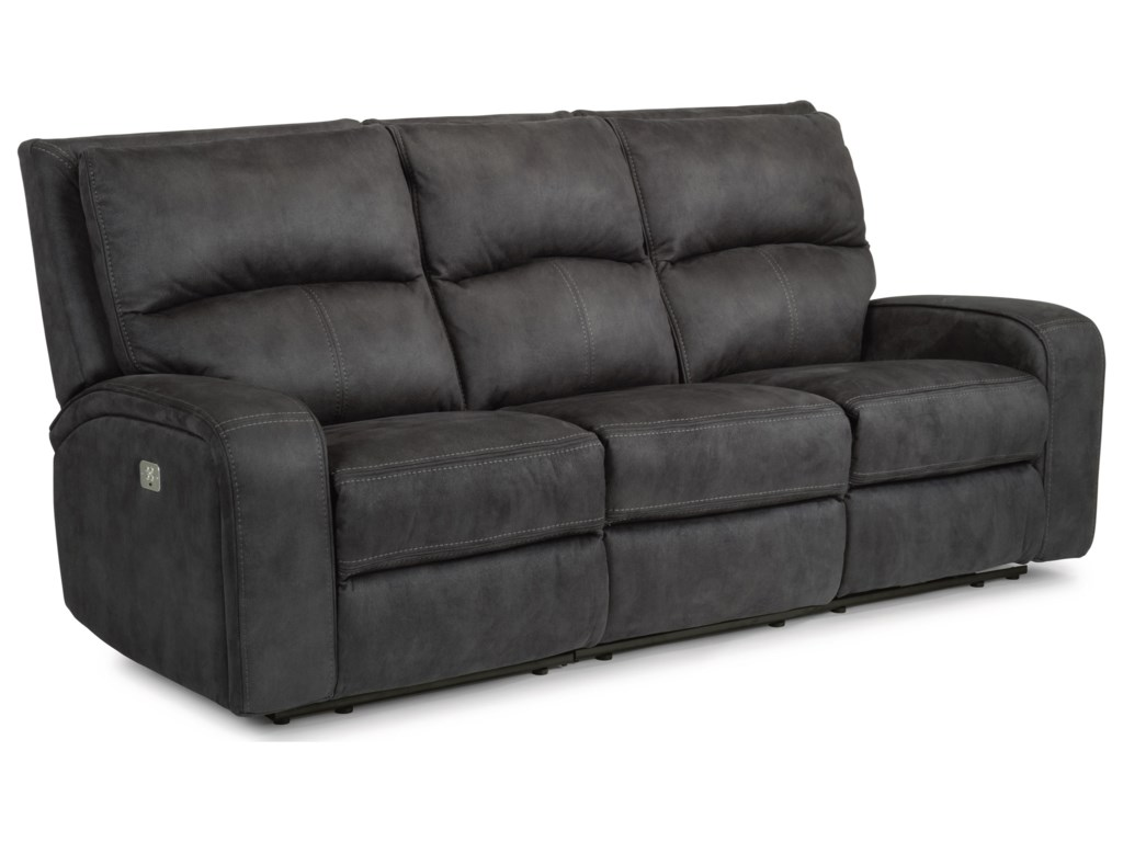 Flexsteel Latitudes-RhapsodyPower Reclining Sofa with Power Headrests