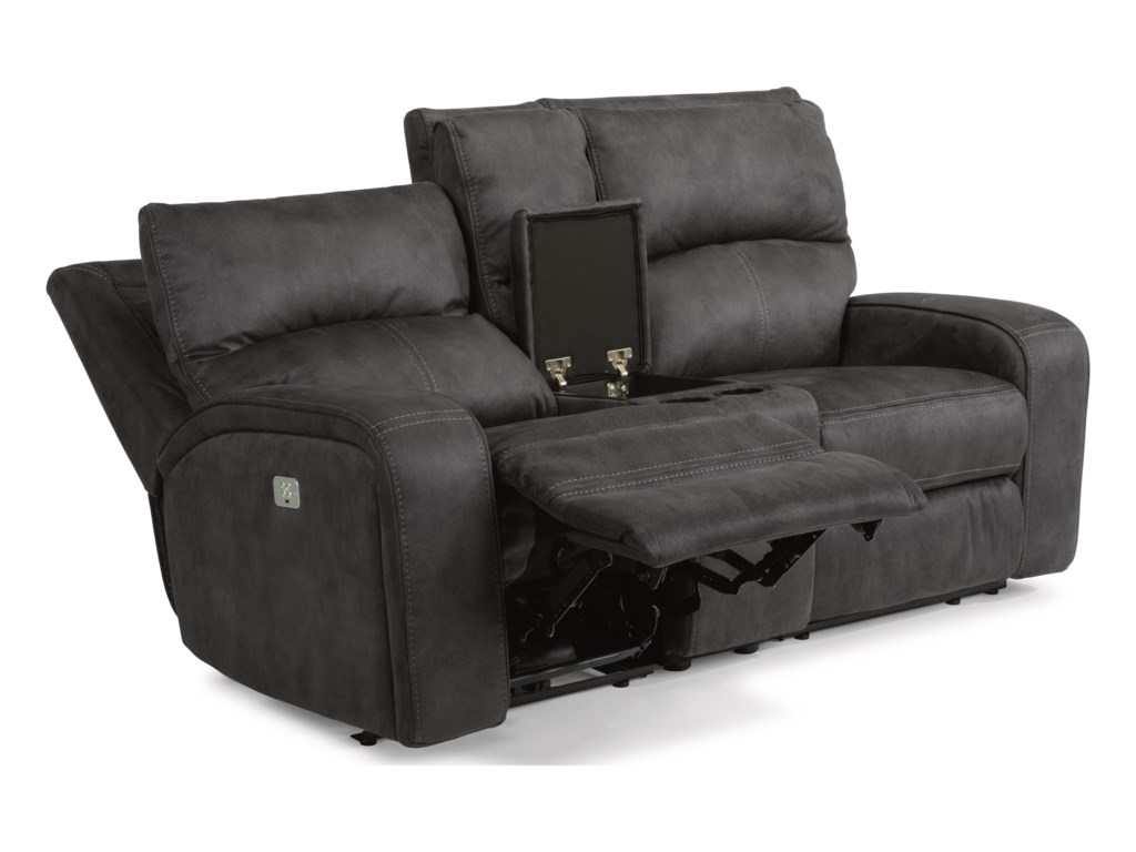 Flexsteel Latitudes-RhapsodyPower Reclining Loveseat w/ Power Headrests